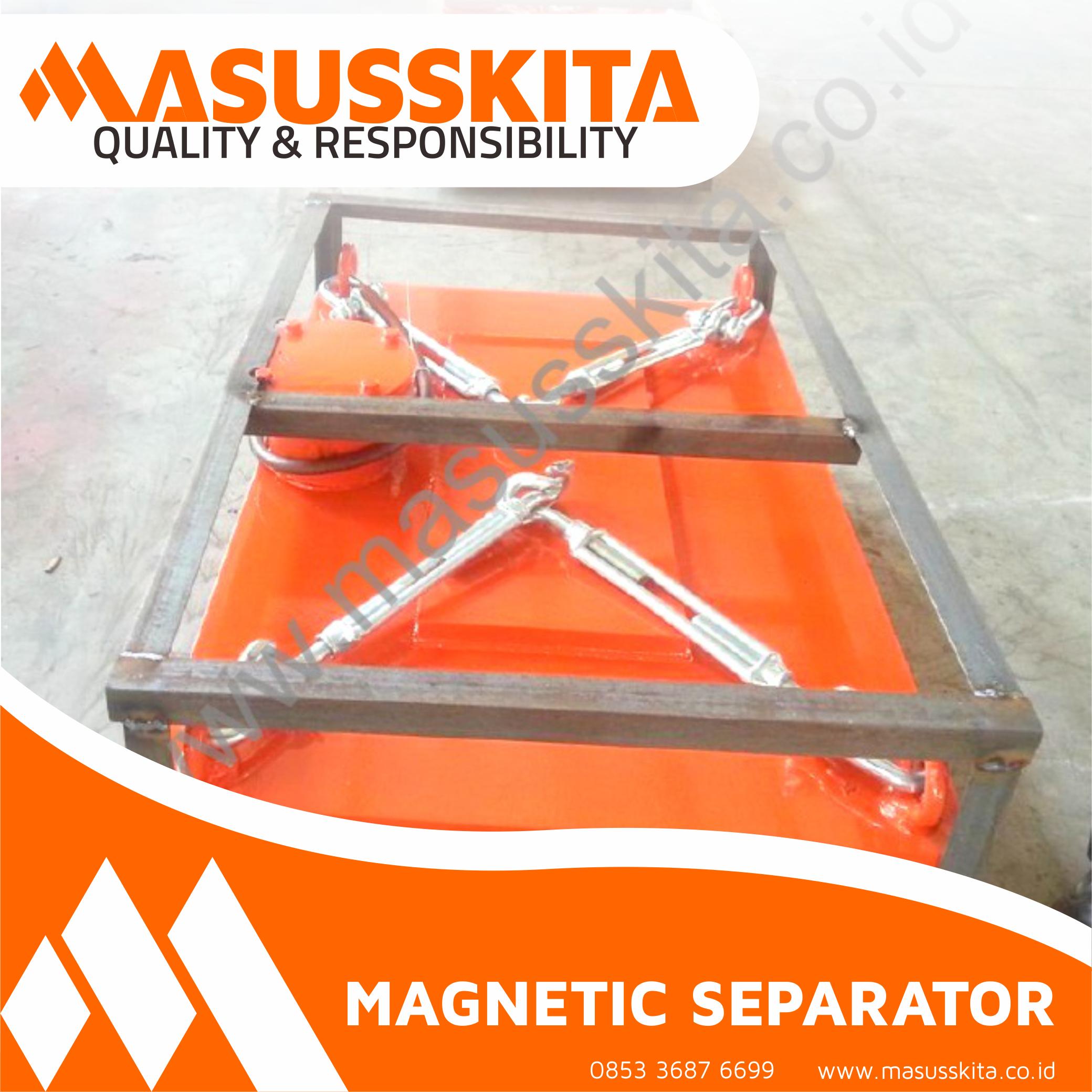 Magnet Separator permanent-masusskita