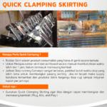 quick clamping skirting masusskita